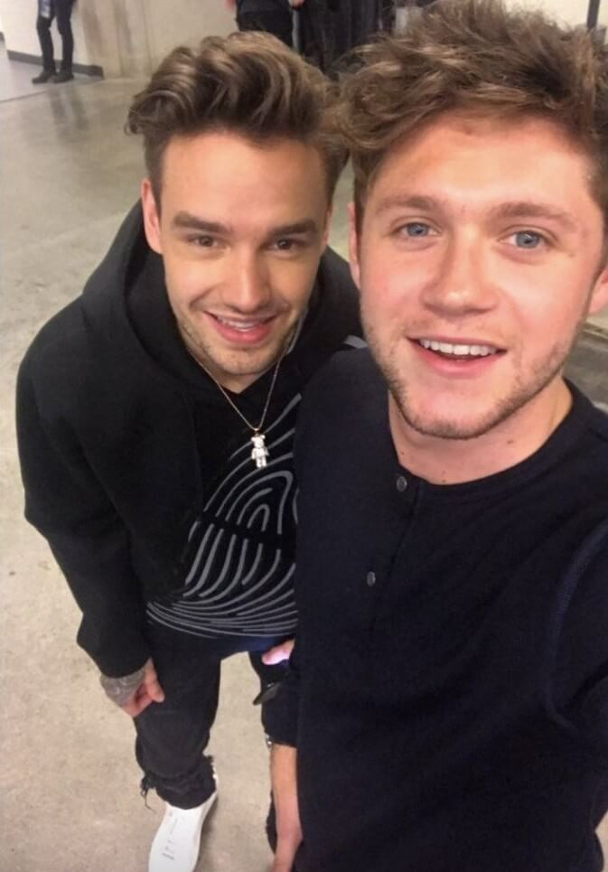 Niall Horan and Liam Payne WZPL