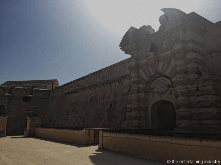 Fort Manoel in Gzira, filming locations of Game of Thrones in Malta