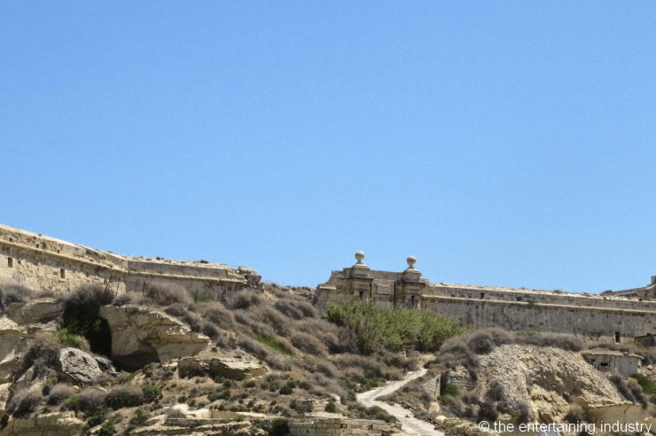 Fort Ricasoli in Malta, filming locations of Game of Thrones in Malta