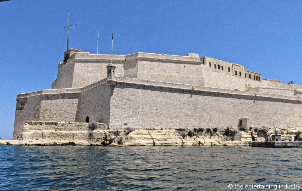 Fort Saint Angelo, filming locations of Game of Thrones in Malta