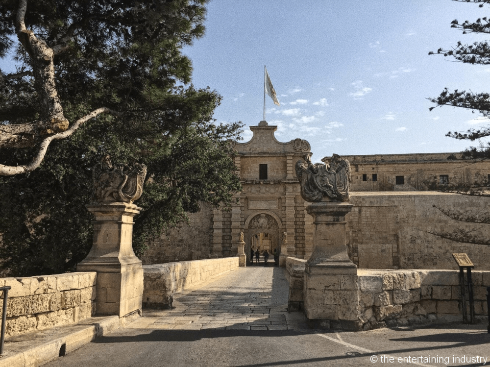 Mdina Gates, filming locations of Game of Thrones in Malta
