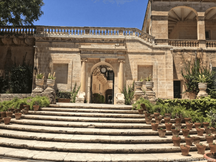 San Anton Palace, president of Malta residence, filming locations of Game of Thrones in Maltaa