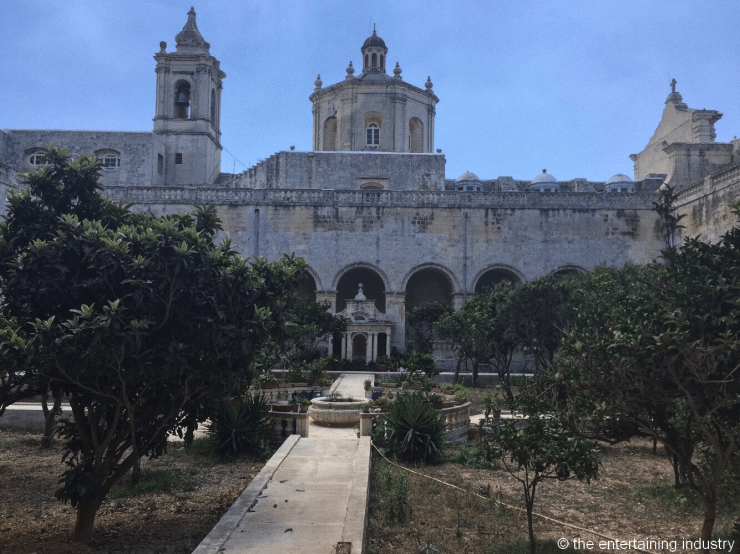 Saint Dominic's Covent, filming locations of Game of Thrones in Malta