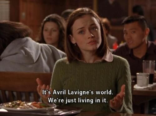 Rory Gilmore Avril Lavigne quote