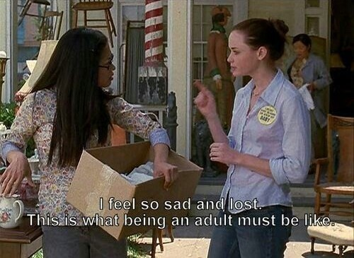 Rory Gilmore quote sad adult